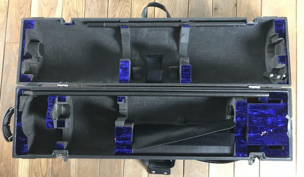 Wiseman case – The Contrabass Flute  Double Contrabass Flute Case